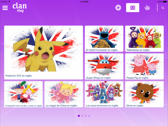 RTVE Clan iPad Screenshot 2