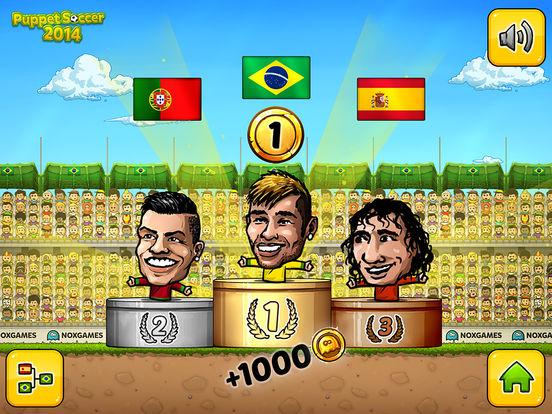 Puppet Soccer 2014 - футбол - Чемпионат мира марионеток Скриншоты11