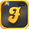 Alejandro Portela - Cool Fonts Pro - The Best Font Keyboard with Themes for iOS 8  artwork