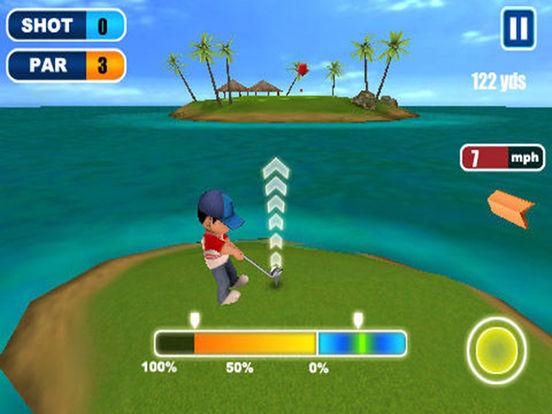 Ace Golf 3D iPad Screenshot 1