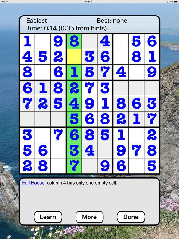 :) Sudoku +screeshot 3