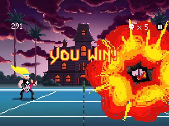 Heavy Metal Tennis Training screenshot 9