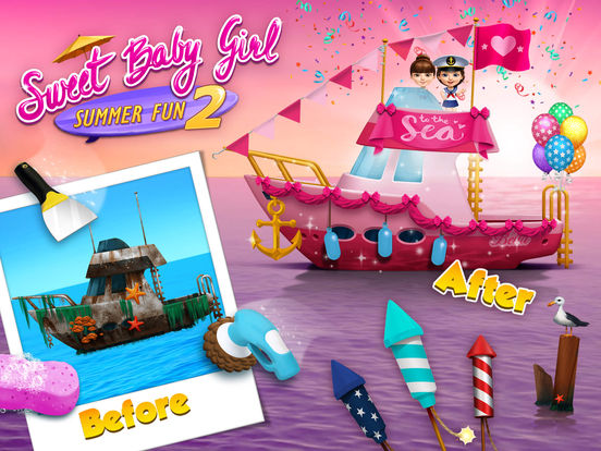 Sweet Baby Girl Summer Fun 2 на iPad