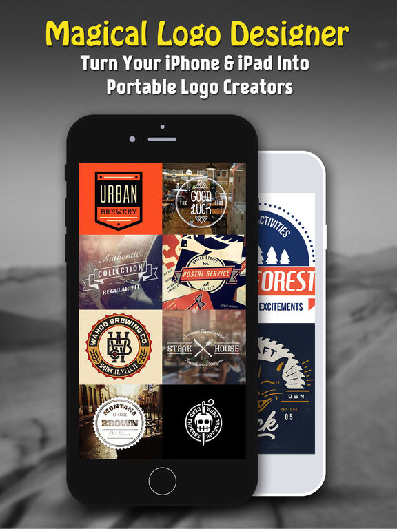 Vintage Design - Logo Maker & Poster Creator Screenshots