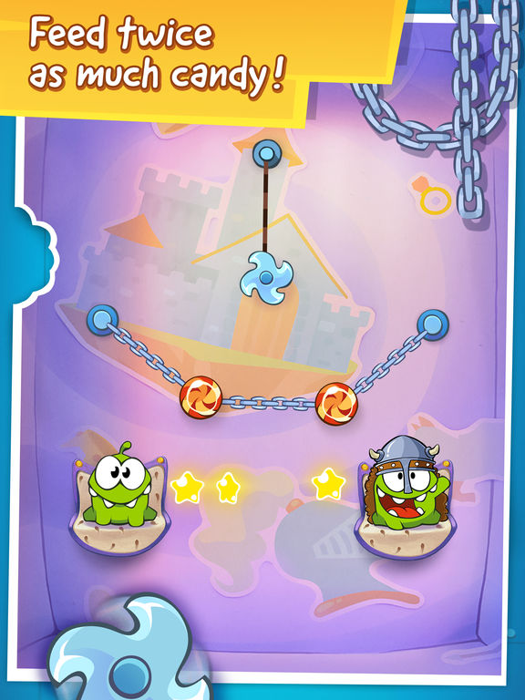 Screenshot #4 for Cut the Rope: Time Travel Free