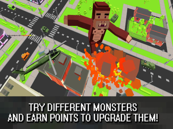 Cube Dino City Rampage 3D Full Screenshots