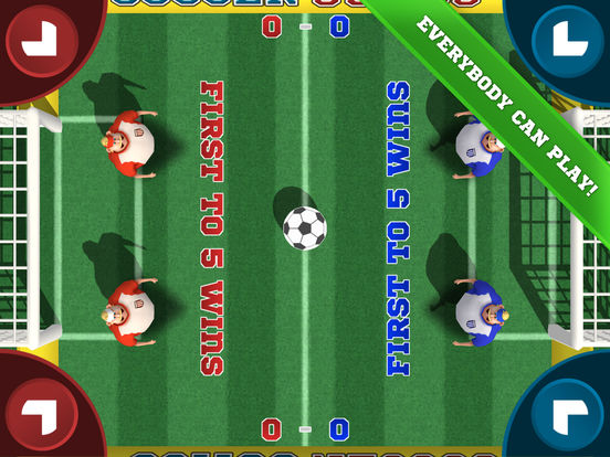 Soccer Sumos - Multiplayer party game! Screenshots
