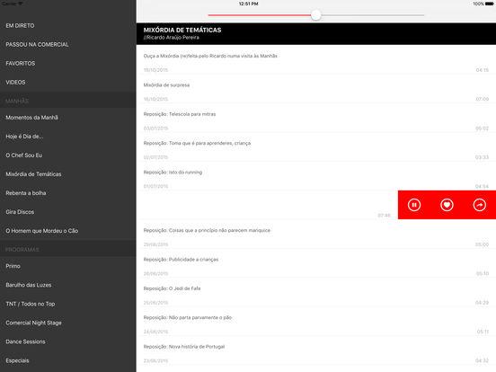 Radio Comercial iPad Screenshot 2