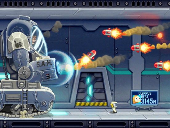 Screenshot #4 for Jetpack Joyride