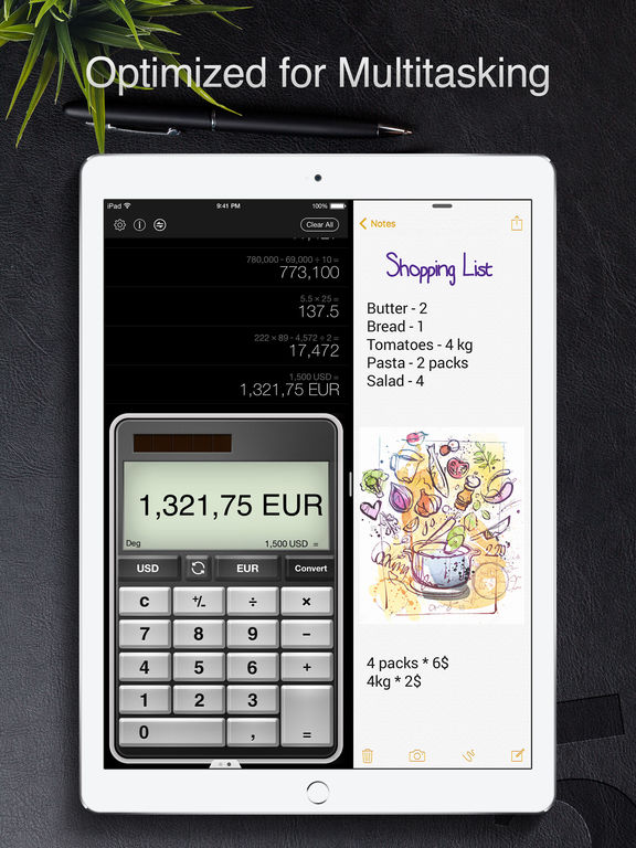 Screenshot #4 for Calculator Pro for iPad Free - Smart Calculator