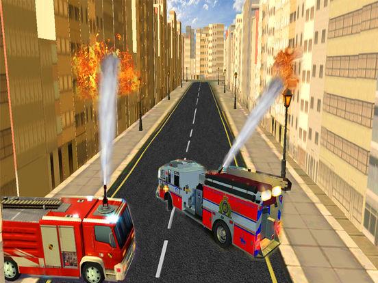 Fire Brigade Truck Simulator 2016 screenshot 6