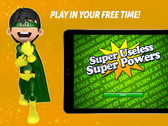 Super Powers - FREE Party Game iPad Screenshot 1