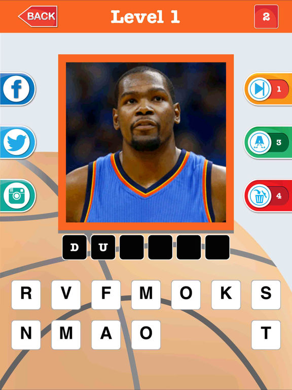 Guess The Basketball Player – NBA all Star Sports Trivia & Questions Quizzes Games ! screenshot