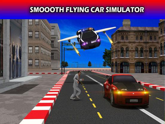 Flying Future Police Cars Pro screenshot 6