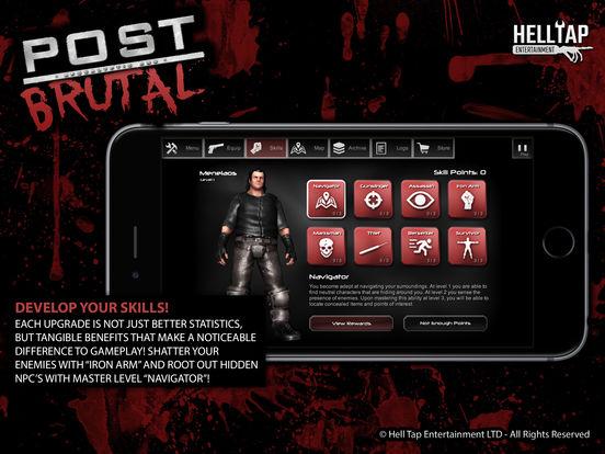 Скачать Post Brutal - Апокалиптические зомби действий RPG