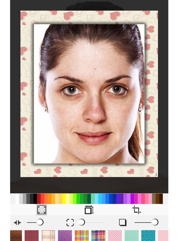 Редактор с макияжем и эффектами
