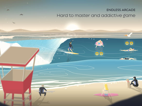 Go Surf - The Endless Wave Runner Screenshots