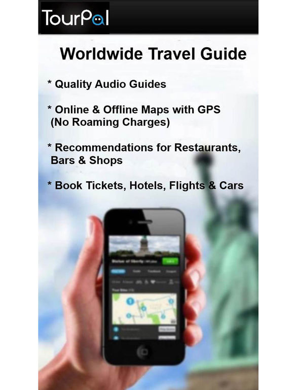 Paris Travel Guide, Audio Tours & City Tour Maps Screenshots
