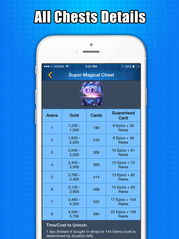 Chest Tracker for Clash Royale on the App Store