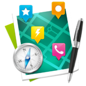 商务地图标注与管理工具 xPoint