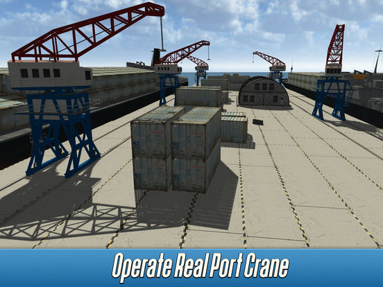 Harbor Tower Crane Simulator 2017 Full screenshot 6