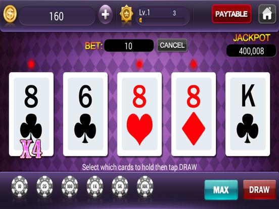 Jackpot Video Poker - Free Casino Poker Gamesscreeshot 4