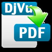 DjVu to PDF