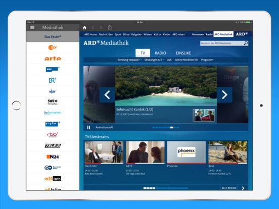 Live TV - Fernsehen überall Screenshots