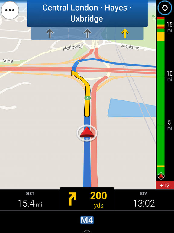 CoPilot Western Europe - Offline Sat-Nav & Maps Screenshots