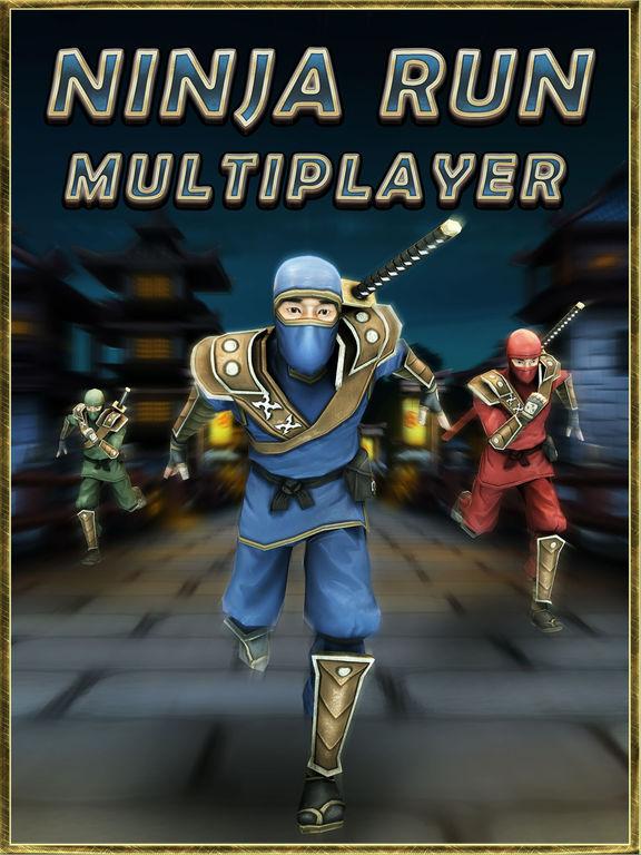 Игра Ninja Run Multiplayer: Classic Real Racing Games