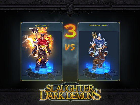 Slaughter Dark Demons (Pure epic dark theme game) Screenshots