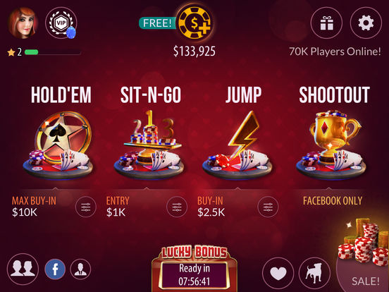 Poker by Zynga screenshot