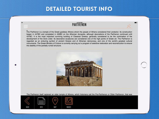 Athens Travel Guide iPad Screenshot 3