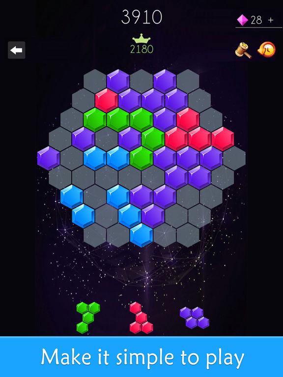 App Shopper: Hexagon Crush - Puzzle Games (Games)