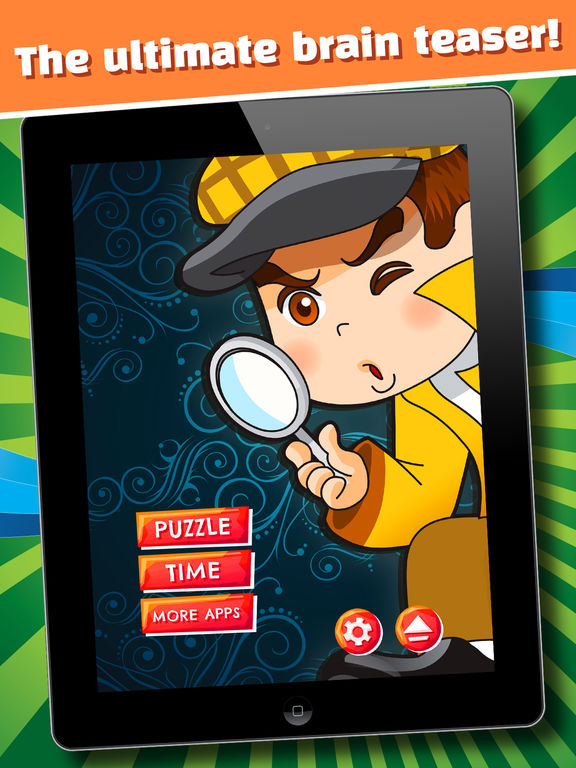 The Secret Mystery Clue Line - FREE - Detective Seek & Find Object Match Up-ipad-0