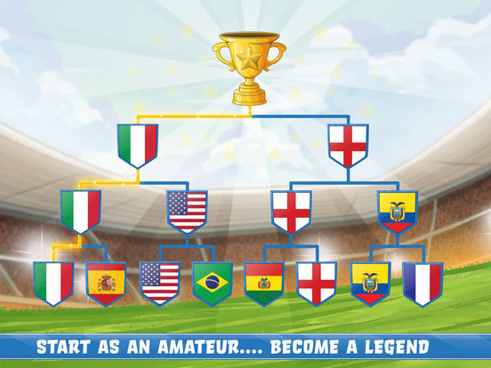 Скачать игру World Football Kick: Champions Cup 17