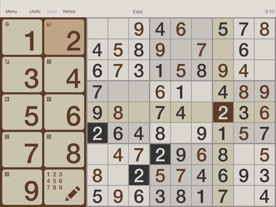 @SUDOKU iPad Screenshot 2