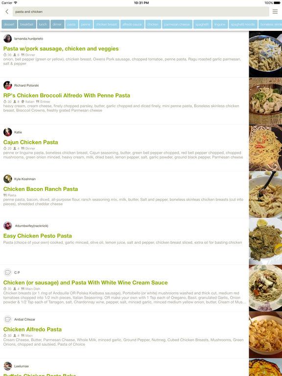 Allthecooks Recipes! The social recipe app. screenshot