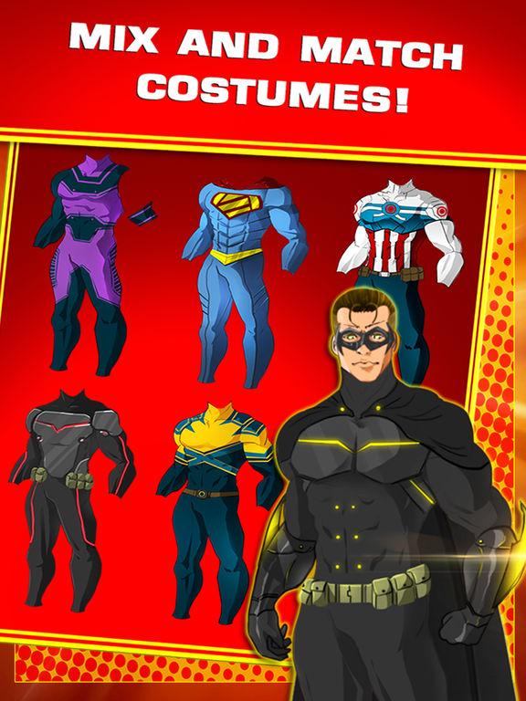 Create Your Own Superhero Character For Freescreeshot 2