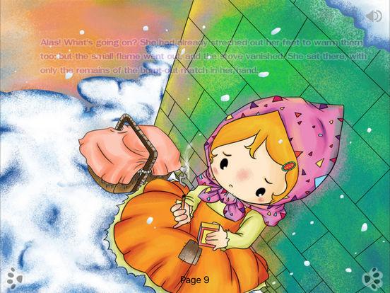 iBigToy Interactive Book-The Little Match Girl HD iPad Screenshot 2