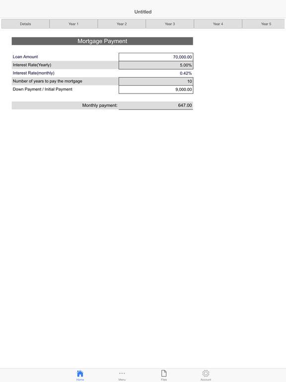 Mortgage Log Pro Screenshots