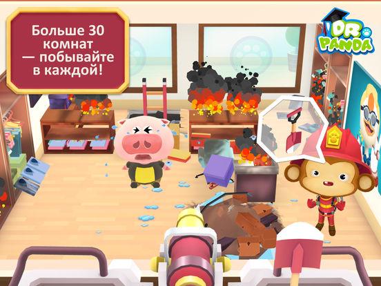 Игра Пожарная команда Dr. Panda