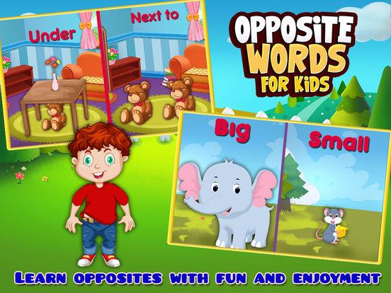 Opposite Words For Kids on the App Store