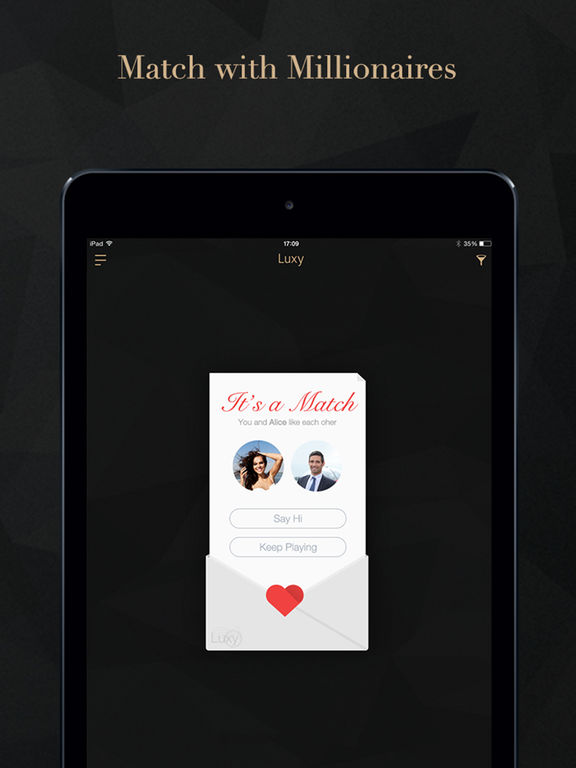 Luxy Pro- Elite Singles Dating & Millionaire Match Screenshots