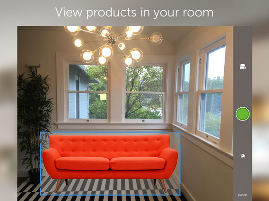 Houzz interior design ideas screenshot for Best room design app