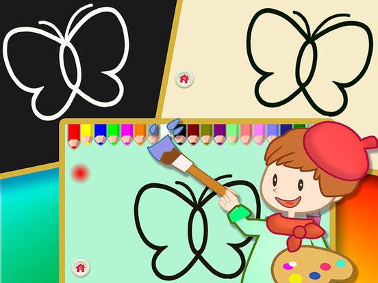 Книжка-раскраска для детей и взрослых - каракули ничья окраски весело - Дошкольники цвет искусства