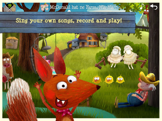 Little Fox Music Box  - Sing along fun for kids Screenshots