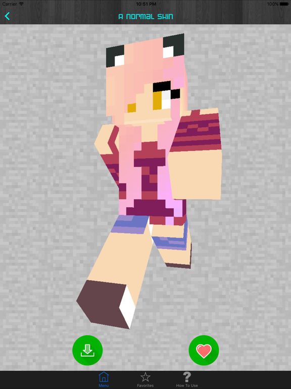 Screenshots of Girl Skins for Minecraft PE (Pocket Edition) - Best Free Skins App for MCPE. for iPad