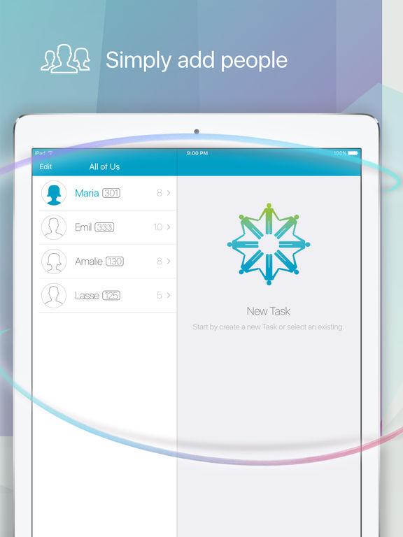 Moogli: Collaborate with Tasks & To-Do Lists Screenshots