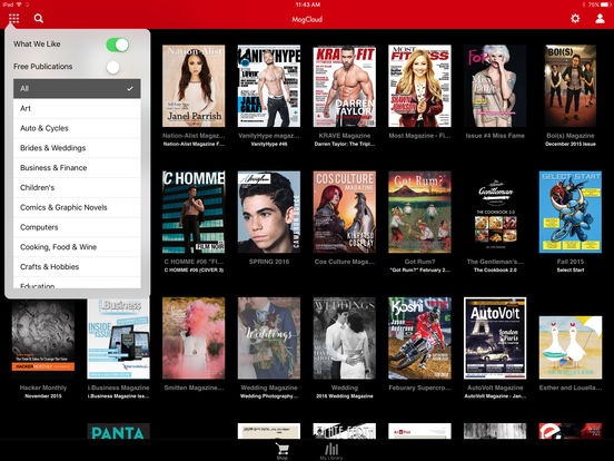 MagCloud Magazine Store & Reader iPad Screenshot 2